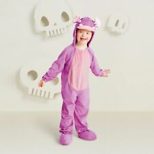 Hyde & Eek! Boutique Toddler Plush Hippo Halloween Costume JumWapsuit, 4-5T, NWT