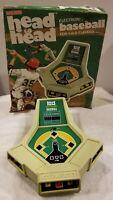 Vintage Coleco Head to Head Baseball Electronic Handheld Video Game Original Box