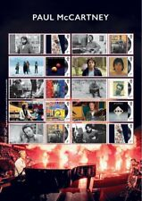 GB 2021 - Paul McCartney Smilers/Collector Stamp Sheet - GS134/LS132