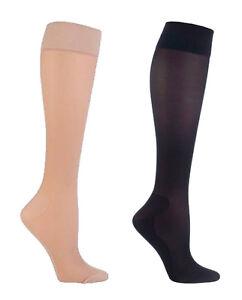 IOMI - Ladies 18 mmHg Graduated Compression Medical Travel Flight Socks for DVT