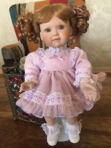 RETIRED*Ashton Drake Doll*Ruffles For Rebecca New Condition NO PAPERWORK