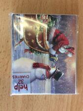 Noel Tatt 8 Pack Christmas Cards - Santa And Snowman