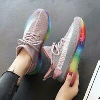 New Women's Breathable Running Athletic Jogging Walking Sneakers Sports Shoes