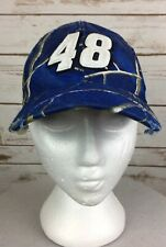 Nascar 48 Jimmy Johnson Baseball Cap Hendrick Motorsports Adjustable Hook/Loop