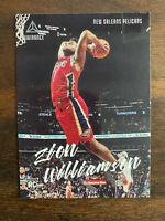 02019-20 Panini Chronicles LUMINANCE #143 ZION WILLIAMSON RC Rookie Pelicans