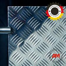 Alu Riffelblech Quintett 500x2500mm 2,5/4,0mm Aluminium Tränenblech Warzenblech