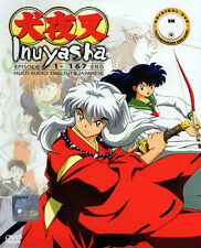 InuYasha DVD Complete Series (1-167 end) - English Audio  - US Seller Ship FAST