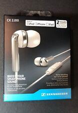 Official Sennheiser CX 2.00i Noise Blocking Earphone NEW