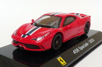 Altaya 1/43 Scale Model Car AL4520F - 2013 Ferrari 458 Speciale - Red