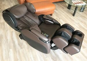 Human Touch Opus 3D Massage Chair Zero Gravity Recliner Heat Foot Rollers Brown