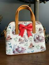 Disney Rare Loungefly Lady & The Tramp Micro Tote Bag Purse Satchel NWOT