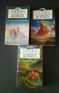 La Trilogie Du Seigneur Des Anneaux En Livre Pocket J.R.R Tolkien En Bon État