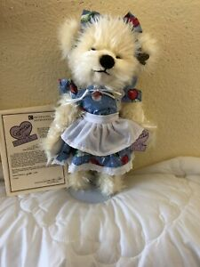 Annette Funicello Mary Beth Ivory Plush Bear Kitchen Collection