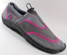 NEW Women's NORTHSIDE GRAY/Pink  Athletic Water Aqua Sandals Shoes SZ 6