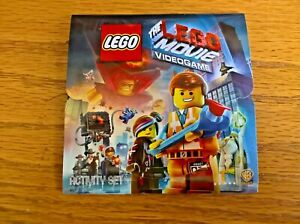 Activity Set (stickers, jigsaw etc) promoting The Lego Movie Videogame
