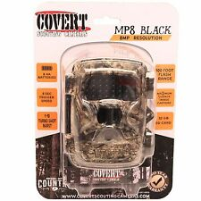 Covert Scouting Camera MP8 Black 8MP Trail Game Cam Break-up Country Camo - 5212