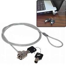 Ordinateur portable Notebook PC Security Cable Lock Deux clés Antivol forte