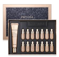 TONYMOLY Prestige Jeju SNAIL AMPOULE SET Skin Intense Care Beauty Gift