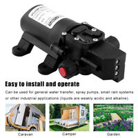 60W 12V 5L/Min Caravan Water Pump Intelligent Electric High Pressure Automatic