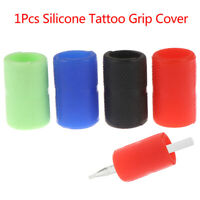 1Pc Silicone Tattoo Machine Gun Grip Wrap Cover Handle Holder Elastic Protec li