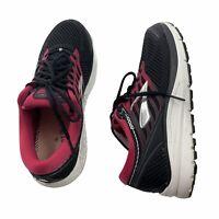 Brooks Addiction 13 1202531B070 Running Shoes Women's Size 9 B Black/Pink EUC