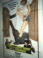 NIGHT THE LIGHTS WENT OUT IN GEORGIA Orig Movie Poster Kristy McNichol Quaid NM