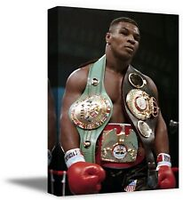 Mike Tyson Wall Art Home Workplace Décor Iconic Boxing Ring Champion Canvas