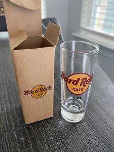 Hard Rock Cafe shot glass Nice