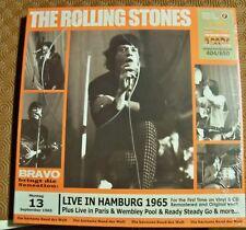 "ROLLING STONES ""LIVE IN HAMBURG 1965 + PARIS,WEMBLEY & MORE 1965"" 5LP+CD BOX SET"