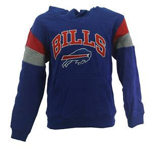 Buffalo Bills Official NFL Apparel Kids Youth Size Hooded Sweatshirt New Tag