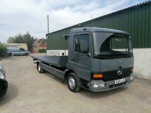 Mercedes-Benz Atego, Tilt & Slide with Spec Lift Recovery Truck, Excellent Lorry