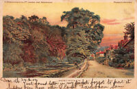 Bonchurch, Isle of Wight, Great Britain, Early Postcard, Used in 1904