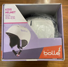 Kids Ski and Snowboard Helmet Bolle Size XS White & Purple NIB with Air Vents