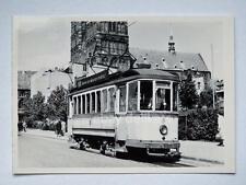 HALLE Germania TRAM tramway Straßenbahn treno vecchia foto 8