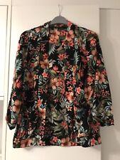 Womens Size 8 Floral Blazer