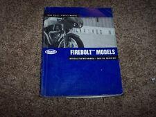 2004 Buell Firebolt Motorcycle Factory Service Shopr Repair Manual 99493-04Y
