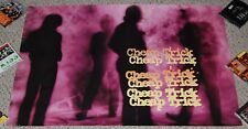 Cheap Trick Standing On The Edge Store Display Promo Poster 1985 Cbs Records