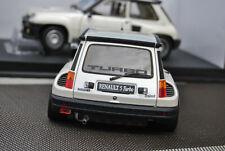 Renault 5 turbo 2  R5 1/18 NEU OVP weiss metallic no Alpine Gordini