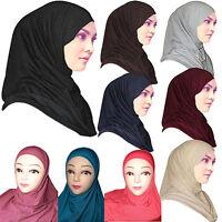 Hijab Islamisches 2 Teiliges Kopftuch Al-Amira Bone Abaya Schal Untertuch Hejab