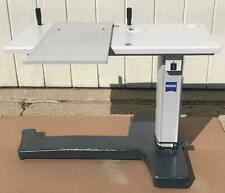 ORIGINAL ZEISS HI-LO ADJUSTABLE POWER TABLE FOR OPTICAL IOL A-SCAN WATCH VIDEO