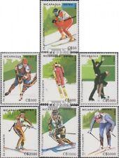 Nicaragua 2951-2957 (complète edition) neuf avec gomme originale 1989 Jeux Olymp