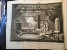 Enciclopedie Diderot 1752-1770: Teinture des gobelins, Tintura seta, 19 tavole