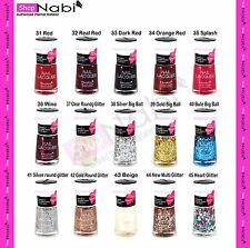 Nail Manicure 6pcs Nabi Nail Polish (Pick any 6 colors)