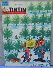 Journal Tintin n°740, 27 décembre 1962, Nouvel an 1963, dessin de Berck
