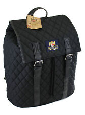 The British Bag Company Quilted Back Pack  Rucksack