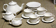 Ceramic Bisque Children Tea Set Alberta Mold 203 207 U-Paint Ready To Paint