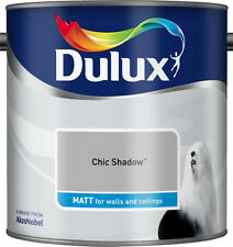 Dulux Smooth Creamy Matt Emulsion Paint - Chic Shadow  2.5 L -Walls and Ceiling