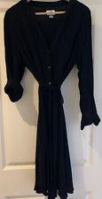 Black OLD NAVY shirt dress. Size 16/XL. EUC