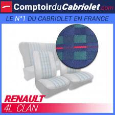 Garnitures sièges avant et banquette arrière pour Renault 4L Clan