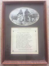 More details for holy island lindisfarne photograph & verse fisherwomen & donkeys signalman beal